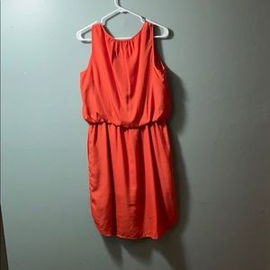 Jessica Simpson Dresses - Orange sleeveless dress